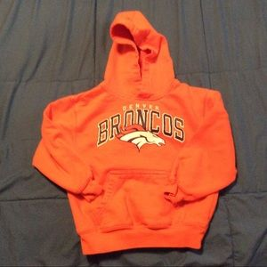 NFL Youth Broncos Hoodie Size 5/6